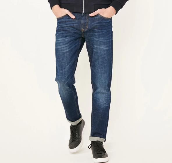 EGOIST ROY Light straight jeans
