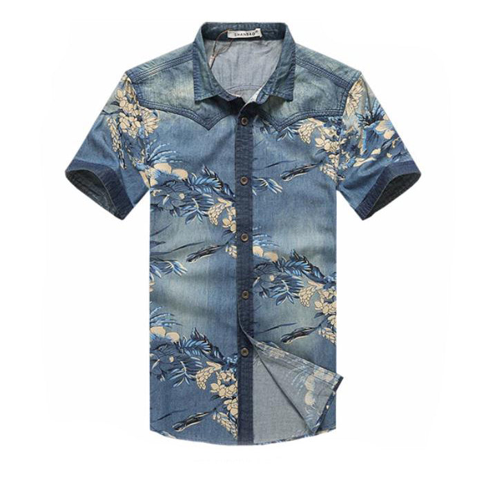 EGOIST CARL Denim shirt
