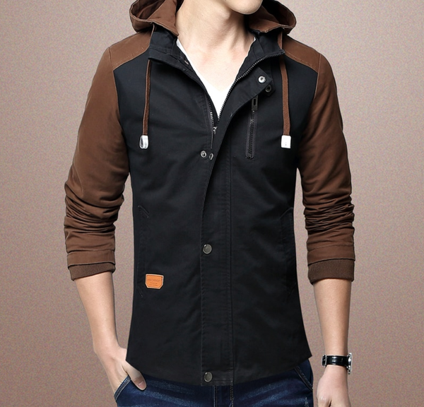 EGOIST ARTHUR Jacket with a hood