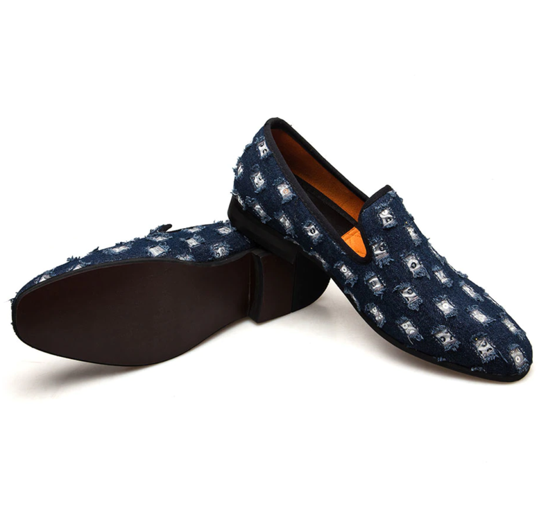 EGOIST SANTIAGO Denim Loafers