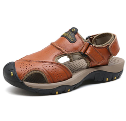 EGOIST JACOB Leather sandals