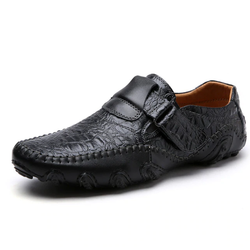 EGOIST DEN Leather moccasins