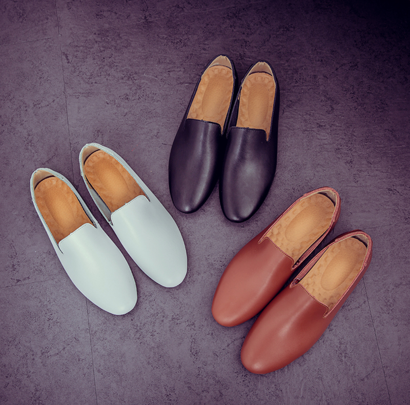 EGOIST PABLO Leather Loafers