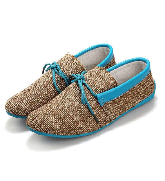 EGOIST RICHARD Textile loafers