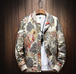EGOIST LARY Bomber jacket with embroidery