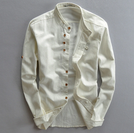 EGOIST JAMES Vintage linen shirt