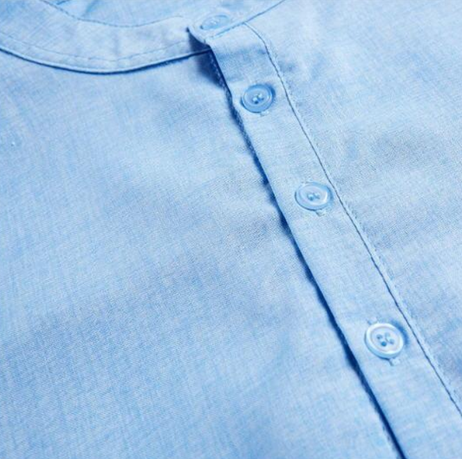 EGOIST MARVIN Slim Fit Linen shirt