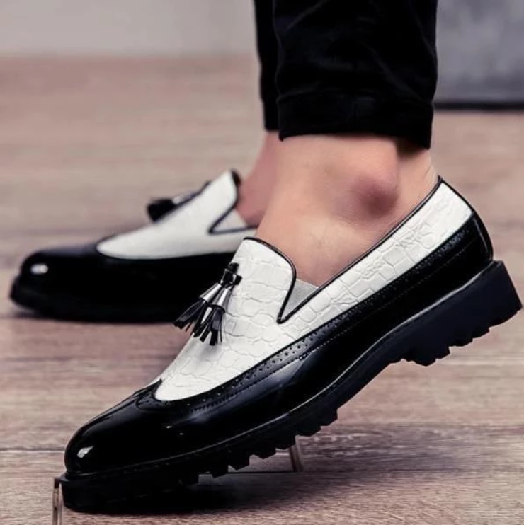 EGOIST PHILIP Leather Loafers