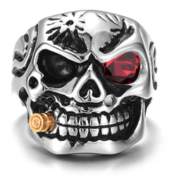 EGOIST  SMOKER SKELETON Ring