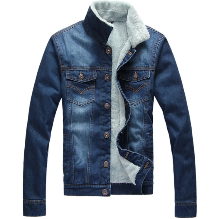 EGOIST SAMUEL Warm Denim Jacket