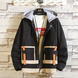 EGOIST LUCAS Casual Hooded Jacket