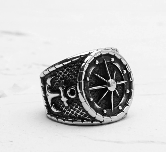 EGOIST ANCHOR Good luck Men's ring