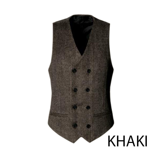 EGOIST ERNEST Double breasted vest