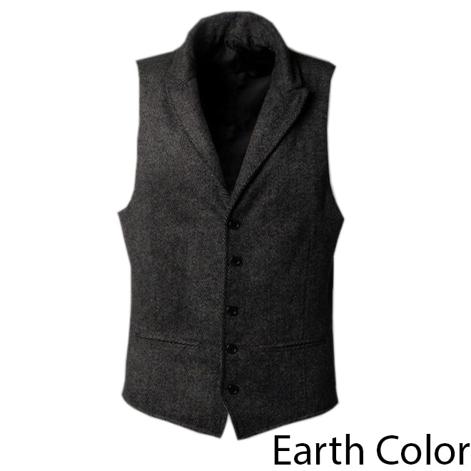 EGOIST PABLO Vintage Single Breasted Vest