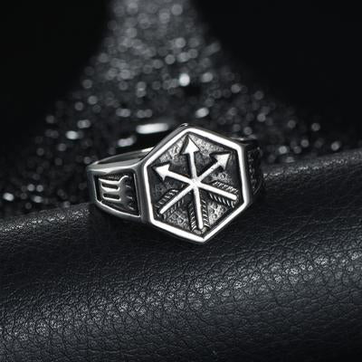 EGOIST VIKING Hexagon Ring