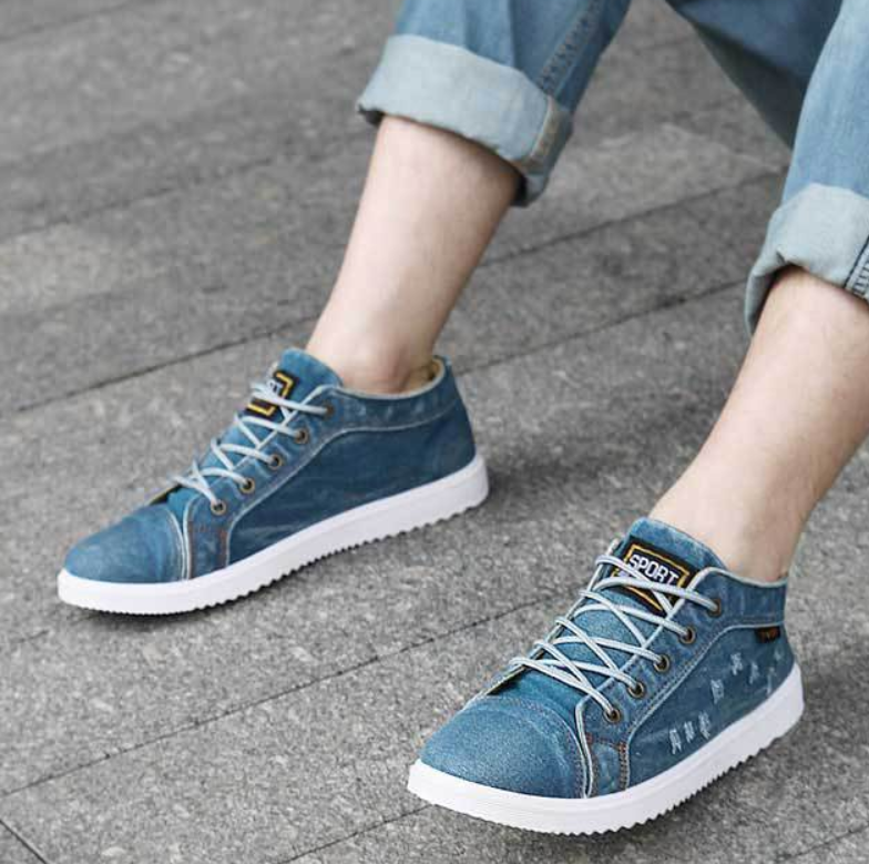 EGOIST JASON Denim sneakers