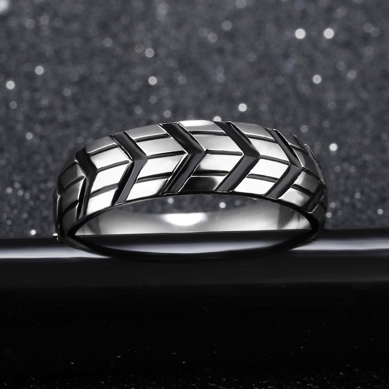EGOIST ALEXANDER Stainless Steel Ring