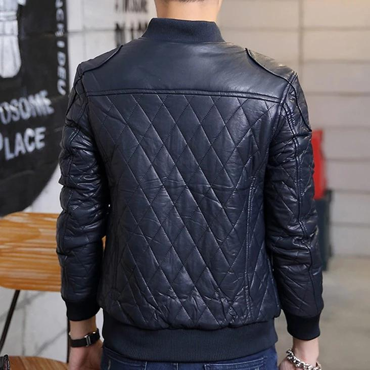 EGOIST JAMES PU Leather Jacket