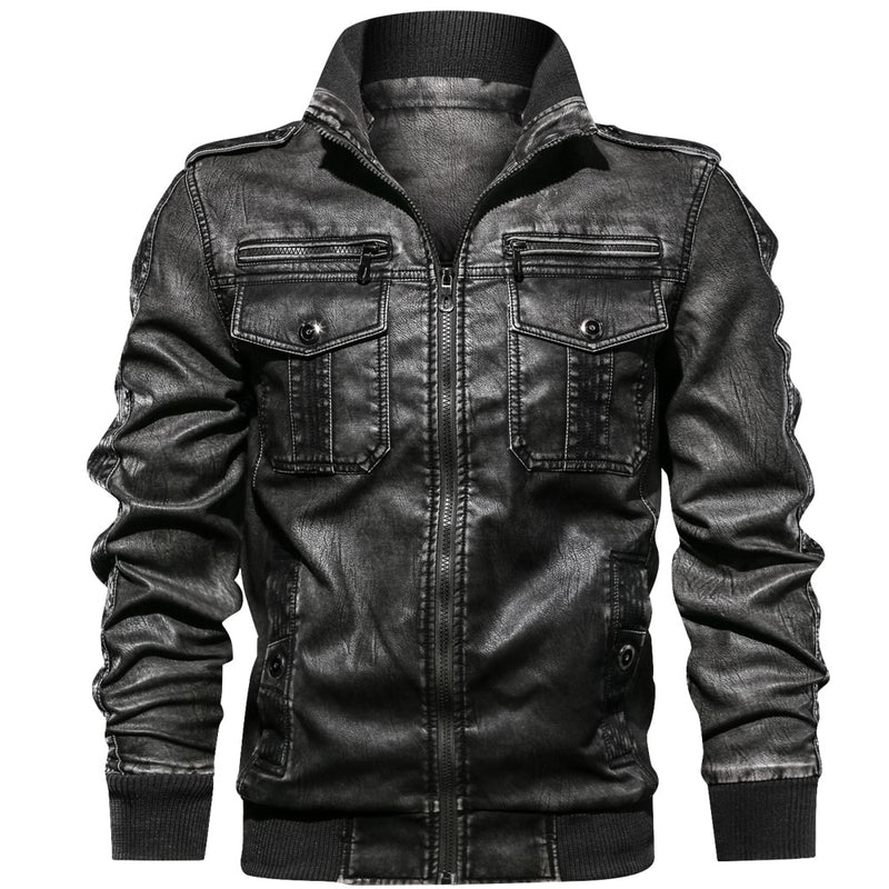 EGOIST GARY Leather Jacket