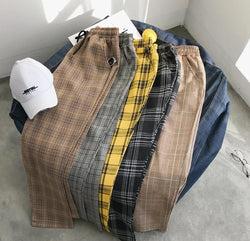 EGOIST JAMES Plaid Pants