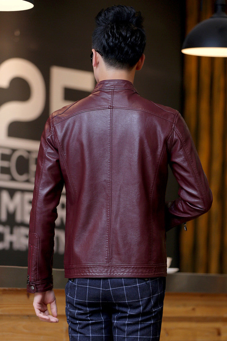 EGOIST OWEN Leather Jacket