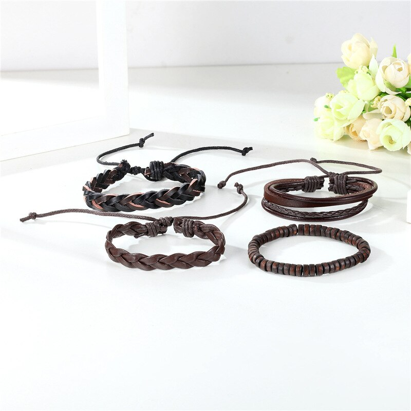 EGOIST ADAM Multilayer Leather Bracelet