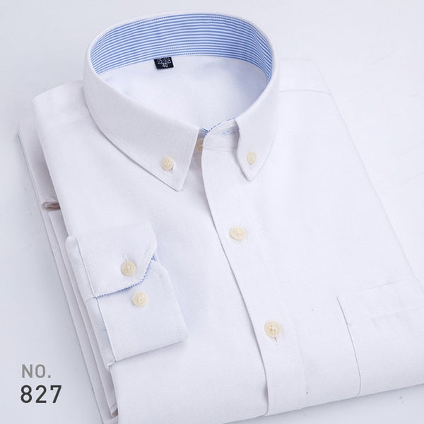 1EGOIST ENRIQUE Casual Cotton Oxford Shirt