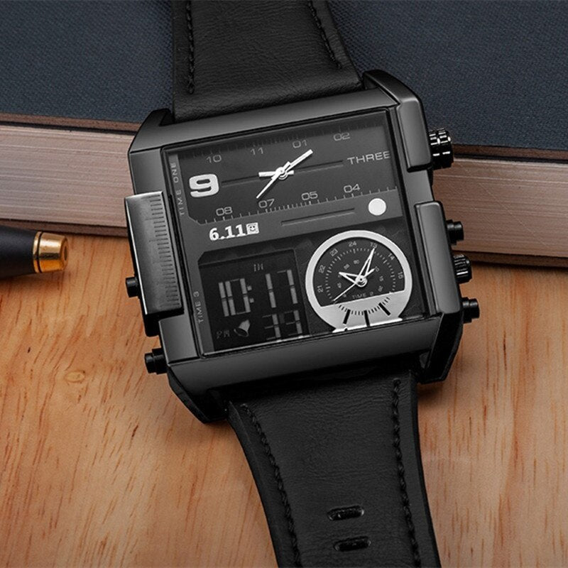 EGOIST BERNARD Multiple Time Zone Watch