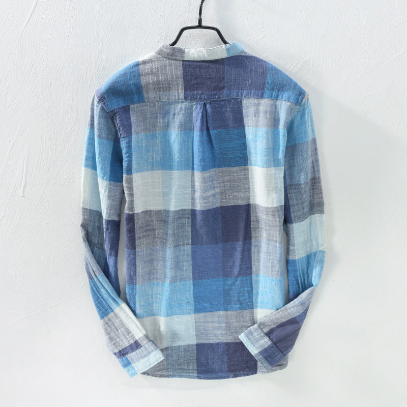 EGOIST NEIL Linen Cotton Shirt