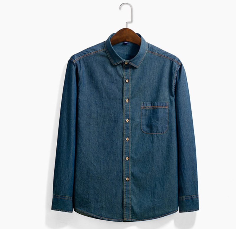 EGOIST ADRIANO Denim shirt