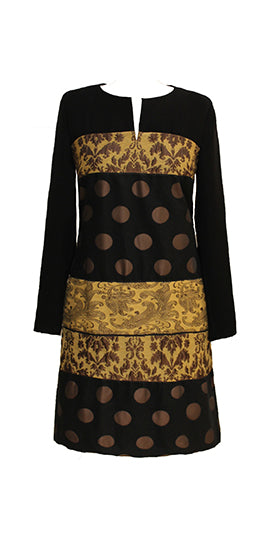 Barbara Schwarzer Black Spot Dress