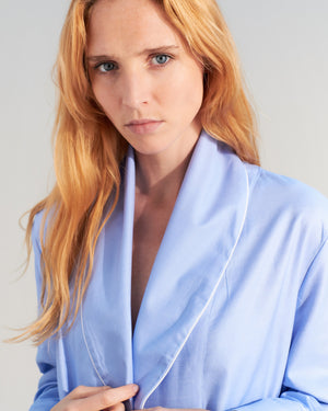 loren blue robe