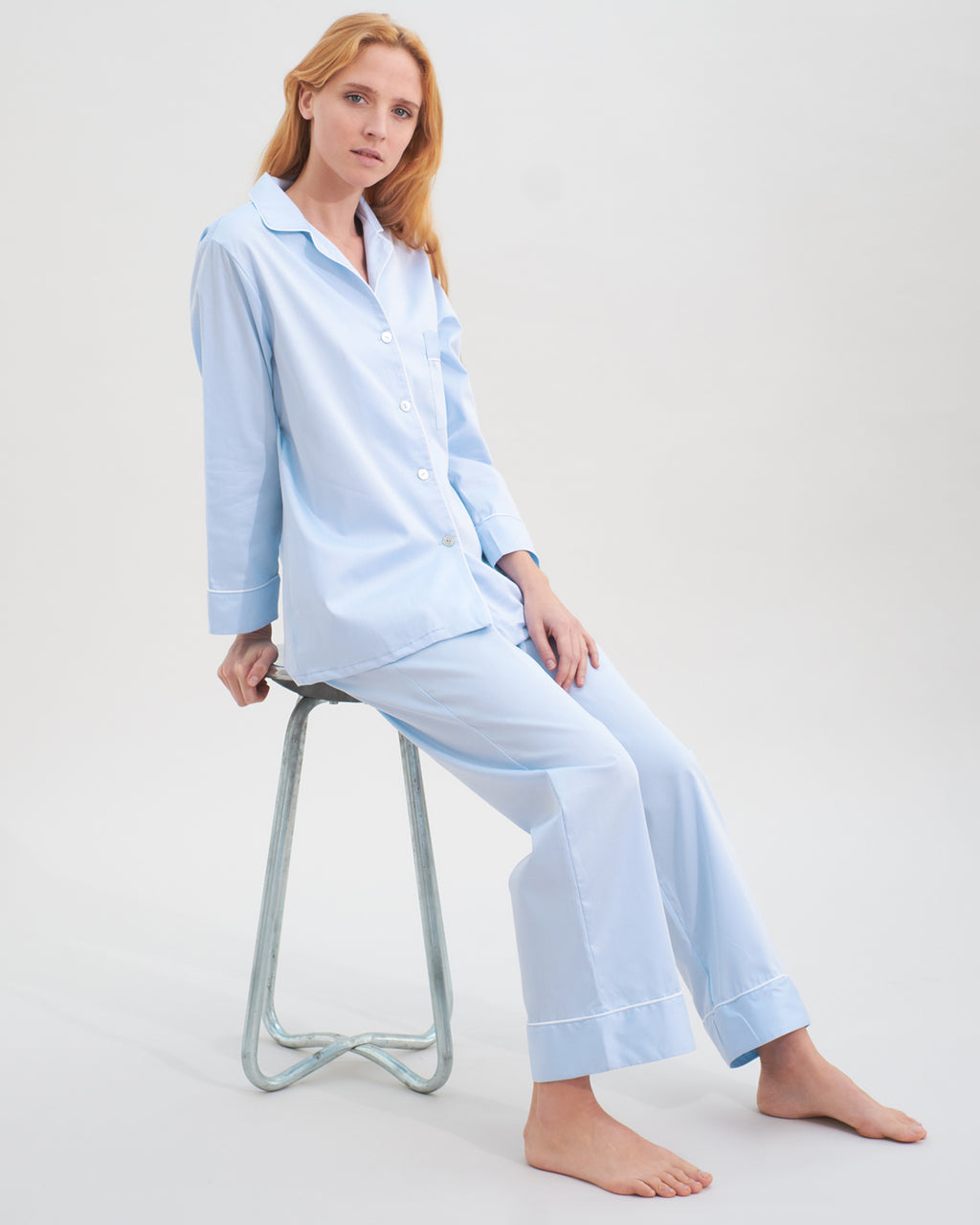 hardy pale blue pyjamas
