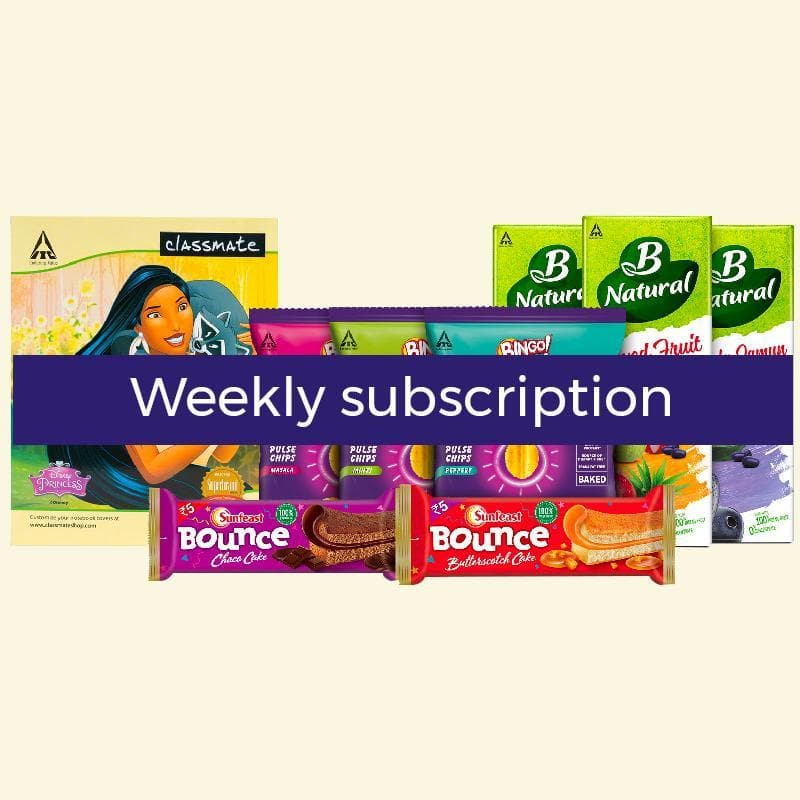 Weekly Subscription