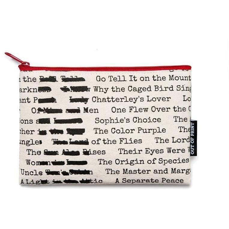 Banned Books Pouch BookGeek