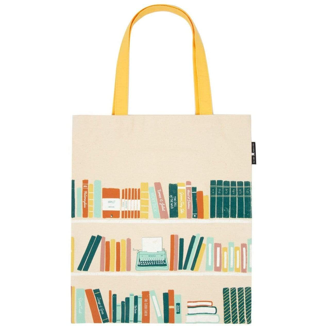 Bookshelf Tote Bag BookGeek