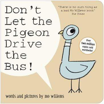 Don't Let the Pigeon Drive the Bus Board Book BookGeek
