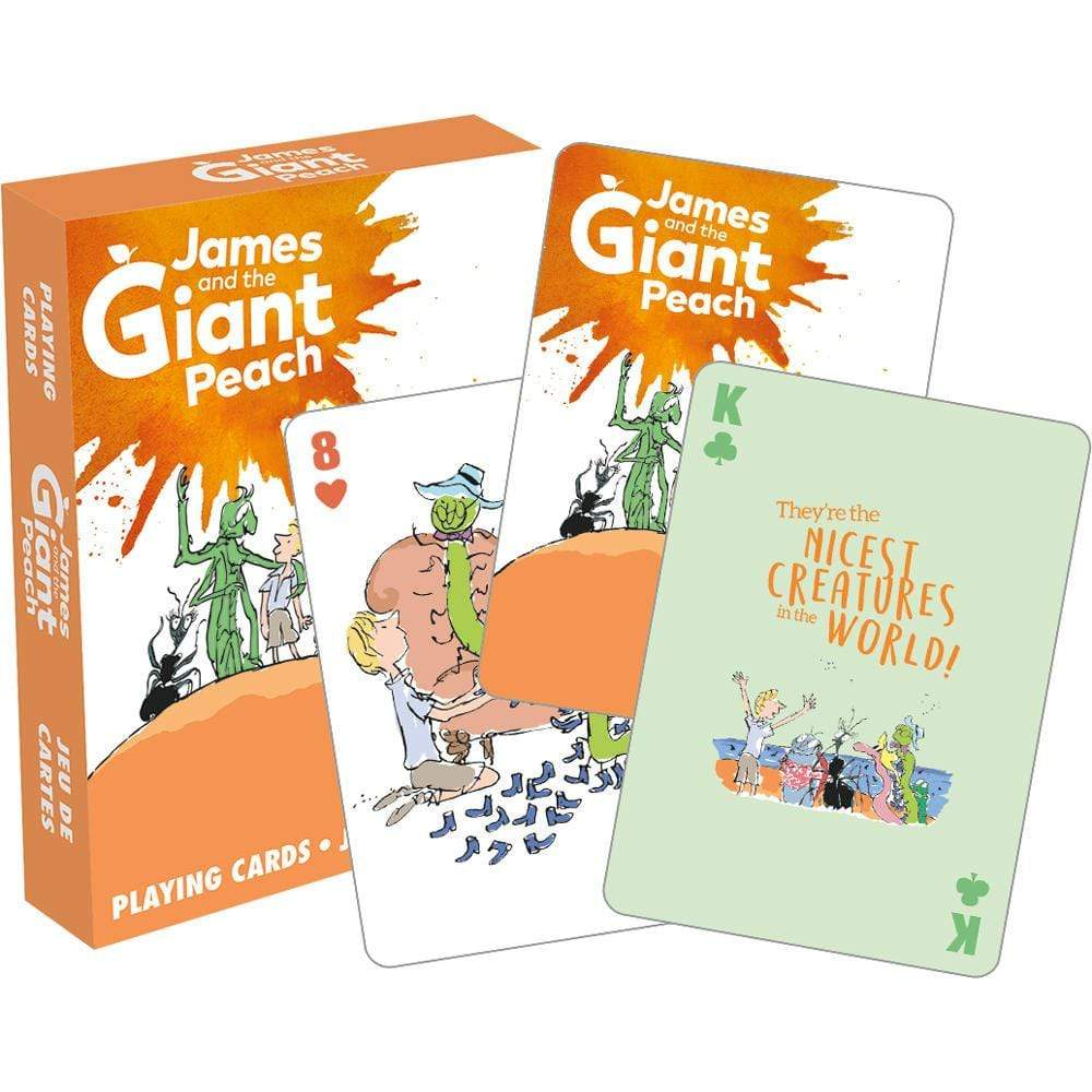 James and the Giant Peach Playing Cards BookGeek