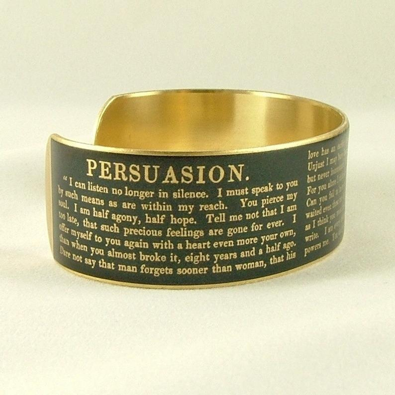 Persuasion Cuff BookGeek