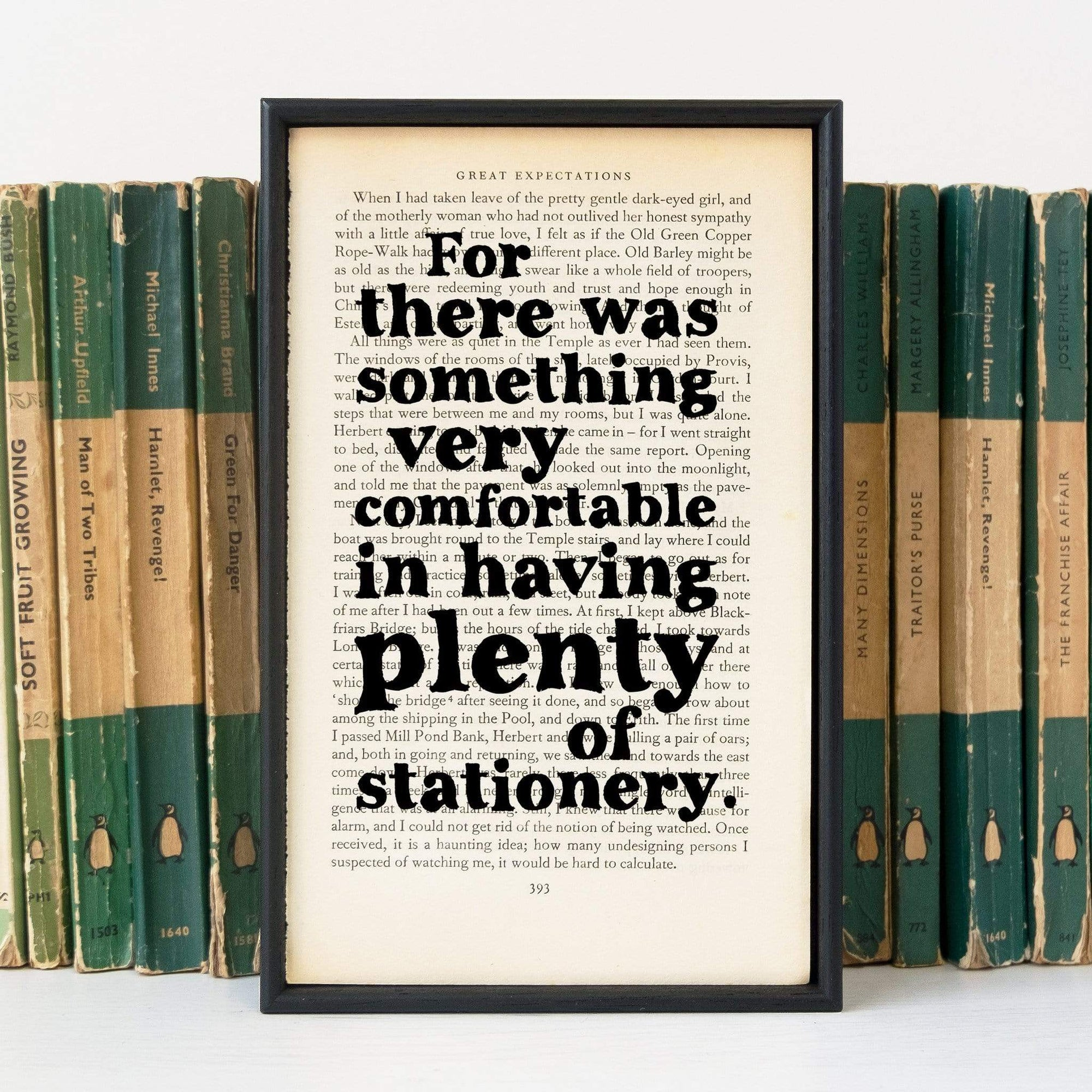 Plenty of Stationery Book Print BookGeek