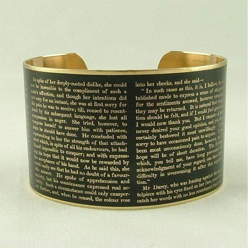Pride and Prejudice Cuff BookGeek
