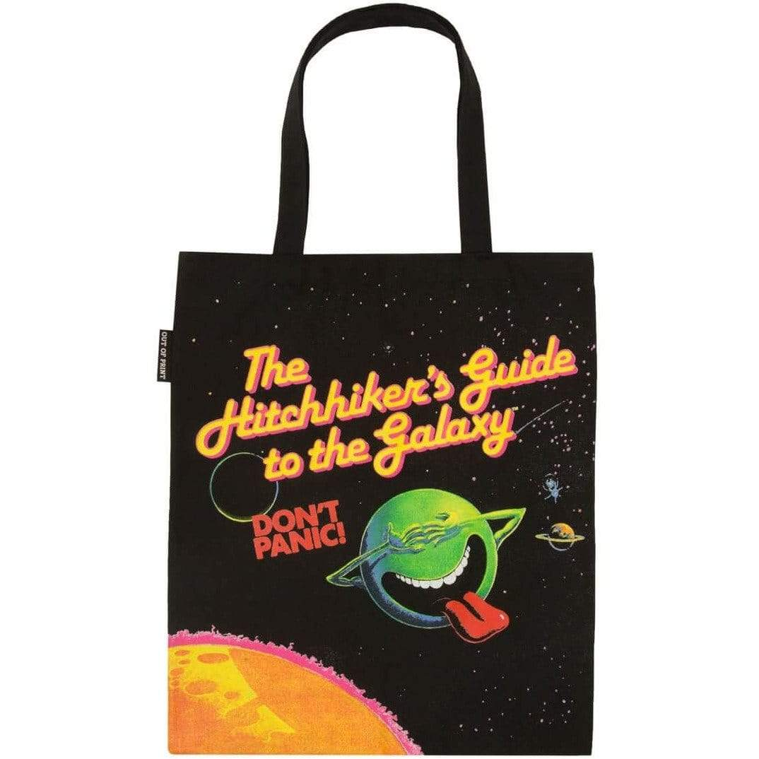 The Hitchhiker's Guide to the Galaxy Tote Bag BookGeek