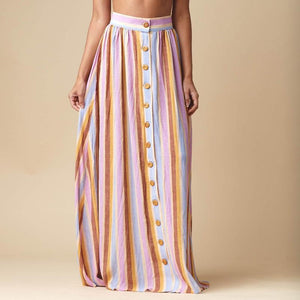 Edith Skirt, Mallorca Stripe