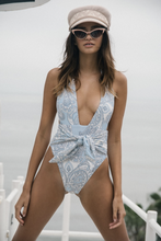 Load image into Gallery viewer, Tropez One-piece, Peri Paisley