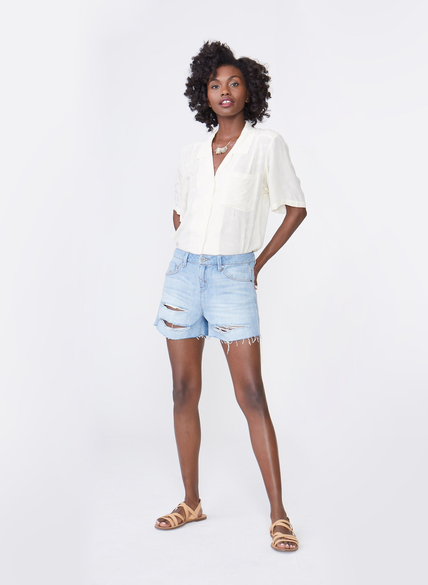 Laine Boyfriend Short, Slouchy Fit