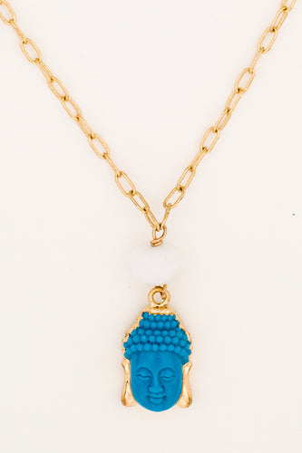 Small Buddha Chain Necklace
