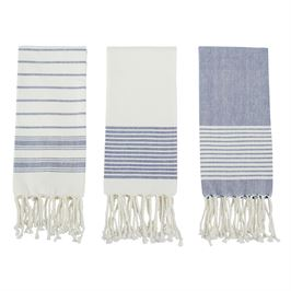 Multi Striped Turkish Hand Towel