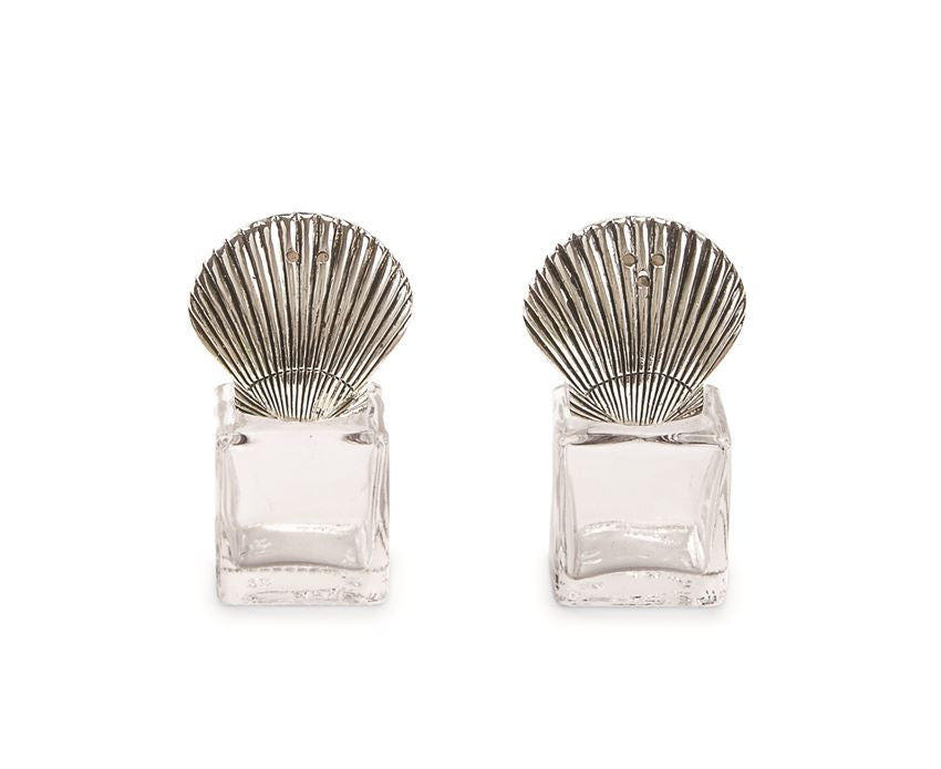 Fan Shell Mini Salt & Pepper Shakers