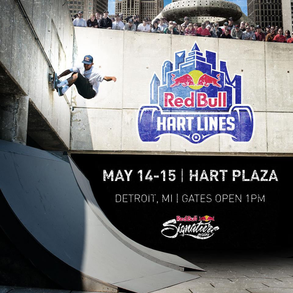 RedBull Hart Lines 2016 in Detroit Returns