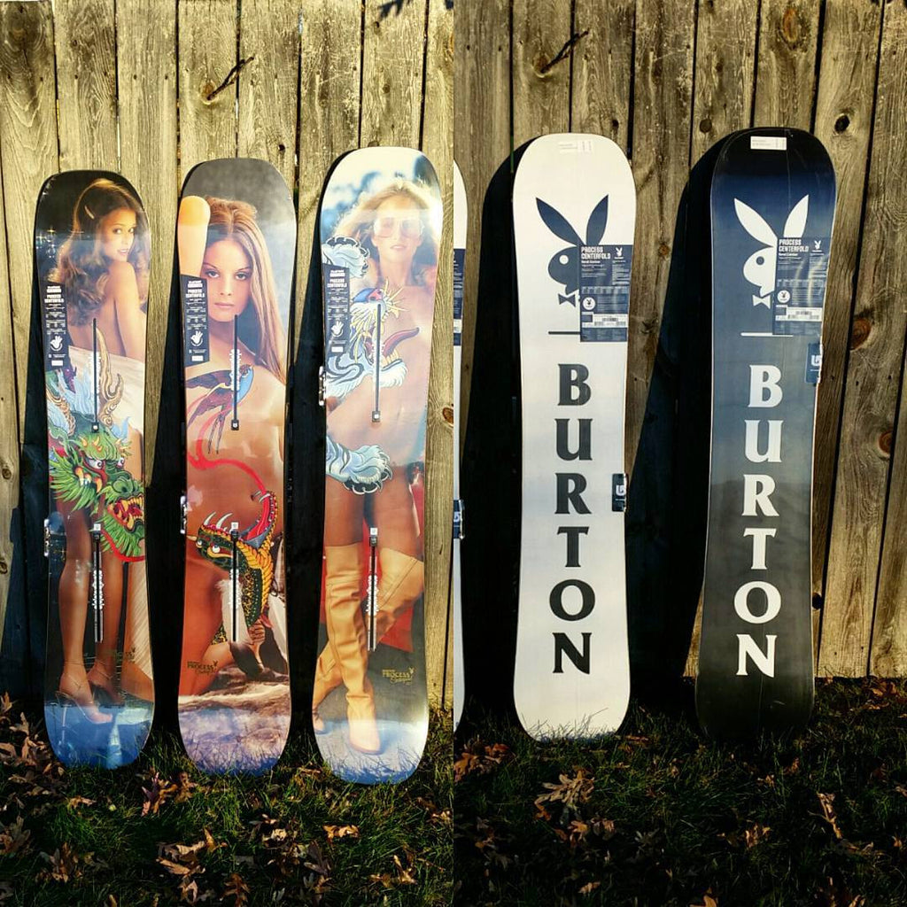 Burton x Playboy Process Centerfold Snowboard People